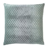 Dots Jade Velvet Pillow by Kevin O'Brien Studio $122.00