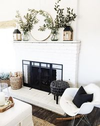 One of the biggest 2017 home decor trends is decorating with greenery. Here's how you can incorporate the trend into your home.
