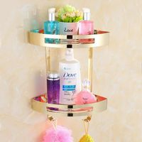 Shower Caddy Stainless Steel Corner Shelves $49.89