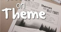A Lesson on Theme, from The Thinker Builder. Uses 'Owl Moon' to discover and explain story themes. (Includes free lesson with printables.)