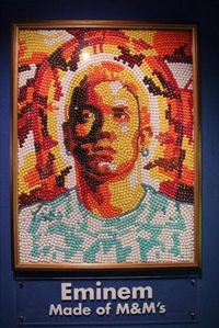 Eminem made of M&M's