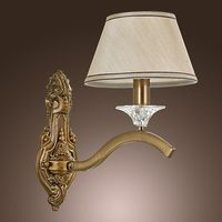 Elegant European Artistic with Wall Lamps