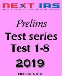 Buy Prelims Test Series 2019, UPSC Test Series, IAS Coaching Notes online