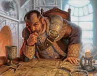 Anvengen Doskivari, first Taldorian Lord Mayor appointed after the death of Issek.