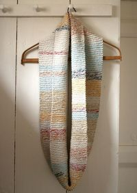 Striped Cotton Cowl, from Purl Bee