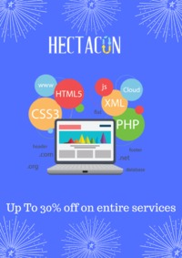 Are you looking for Expert Web Developer! Well, Hectacon is ready to Provides Latest #Webhosting, #VPS Hosting, #Dedicated #Server #Hosting, #SSL Certificate, #SEOServices, #Ecommerce, etc services on Special Discount.