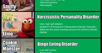 �€˜Sesame Street' Characters all Suffer from Mental Illness? [Infographic]