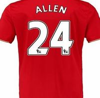 New Balance Liverpool Home Shirt 2015/16 Red with Allen 24 with Allen 24 printing http://www.comparestoreprices.co.uk/sportswear/new-balance-liverpool-home-shirt-2015-16-red-with-allen-24.asp