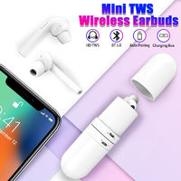 Bluetooth 5.0] HD TWS Wireless Capsule Separation Earphone Stereo Bilateral Call Headset with Charging Box