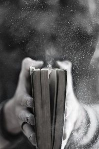 Kindles don't have this kind of magic :) I love the feel, texture, and smell of a book. I enjoy turning the pages and seeing how much I have read :)