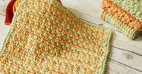 The Three Color Simple Stitch Crochet Dishcloth is the next in our Quick and Easy Crochet Dishcloth series with a simple, yet colorful, stitch pattern.