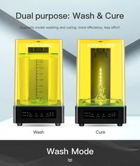Anycubic® Dual Purpost Wash & Cure Machine 2-in-1 UV Resin Model Curing for 3D Printers