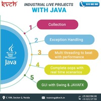Develop your programming skills with beginner to advanced JAVA industrial training offered by KVCH. KVCH is one of the most credible 6 months JAVA training center in Noida that provides JAVA industrial training with ORACLE certification and job assistanc...