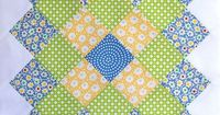 Great Granny Along Light Blue Block by Bitty Bits & Pieces-Kim Walus, via Flickr