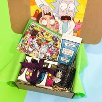 Inspired by Rick and Morty Gift Set Custom Box $25.99