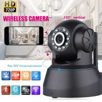 720P HD Wireless WiFi IP Camera IR Security Webcam CAM Pan Tilt Baby Pet Monitor