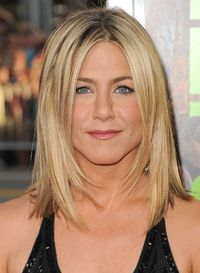 jennifer aniston long bob 2014