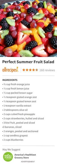"""Perfect Summer Fruit Salad 