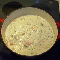 Seafood Chowder ~ OMG! I have made this several times now and it's by far the best chowder ever! This years Valentines dinner for my husband. ��