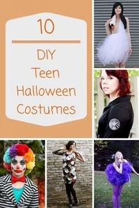 Need a unique idea for a teen Halloween costume? These 10 totally cool teen Halloween costumes will get those creative juices flowing!
