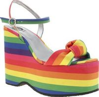 Red Or Dead Multi Ruby Rainbow Womens Sandals Love colour? Take great pleasure in making an entrance? Then the Ruby Rainbow from Red or Dead in the one for you. The vibrantly multi-coloured fabric upper features knotted detail at the toe, sitting http://w...