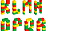 This would be great to post in the block center/Lego tub to see what letters kids could make!