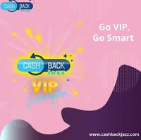 Don't restrict your #opportunities with a free #subscription when you can #explore the best #onlineoffers with a #VIP account.  Get #instantcashback up to 75% on #shopping through CashbackJazz at your favorite #brand.  For more details: http...