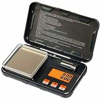 Digital Pocket Scale 200gx0.01g Electronic Weighing Scale 50g Calibration Weight