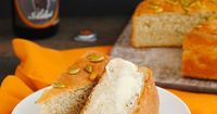 Quick Pumpkin Beer Bread - A simple homemade beer bread made with PUMPKIN beer!