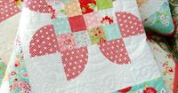 cute patchwork flowers ~ cotton way