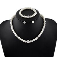 Price: $15.98 | Product: New Korean Style High-grade Imitation Pearl Necklace Sets | Visit our online store https://ladiesgents.ca