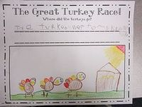 The Great Turkey Race! We will be reading this book in about a week or so :)