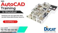 Best Institute for AutoCAD Training Course in Ghaziabad AutoCAD is a business of computer-aided design (CAD) and design of software applications. Expanded and marketed by Autodesk. AutoCAD is reserved in industry, by planners, project managers, e...