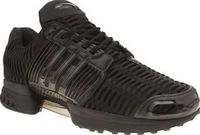 Adidas Black Climacool 1 Mens Trainers adidas revamp one of their classic running styles from the early 2000s and bring you the adidas Climacool 1. The all-black silhouette features a climacool upper for a super light and airy wear. A moul http://www.comp...
