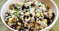 This Black Bean and Sweet Corn Quinoa Salad is simple and delicious, not to mention refreshingly light and healthy.