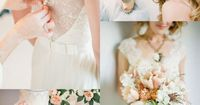 Soft Peach Wedding Inspiration | Elizabeth Anne Designs