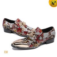 CWMALLS® Bern Printed Leather Dress Loafers CW708105 [Leather Loafers Review, Custom Made]
