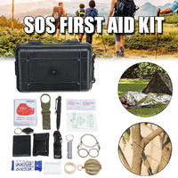26 in 1 SOS Emergency Survival Equipment Gear Tactical Outdoor Camping Hunting Tools Kit