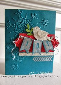 Seeing Ink Spots: A Banner Christmas Preview Card