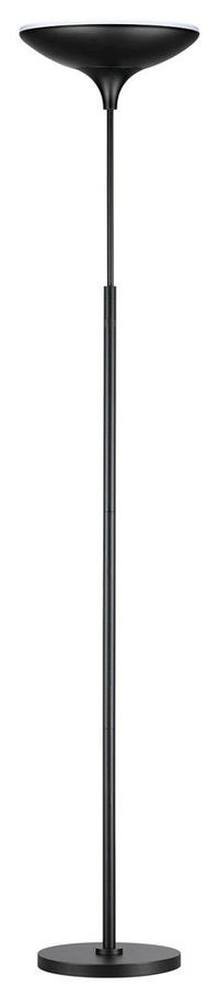 71 in. Matte Black Energy Star Dimmable LED Floor Lamp Torchiere $51