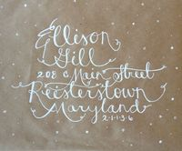 Hand Lettering & Unique Calligraphy by HandSweetHome on Etsy