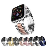 38mm 40mm 42mm 44mm Stainless Steel Bracelet Strap for Apple Watch 4 3 $25.99