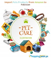 Import Pets Products from Amazon to Pakistan https://shoppingdesk.pk/ 03323371155