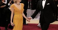 Michelle Williams & Heath Ledger - Oscars, March 5th 2006.