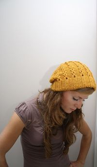 I love the color of this hat! Oh and it really makes me miss my long hair! Why did I cut it again?