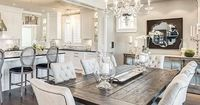 Rustic glam has stolen my heart thanks to this beautiful design by