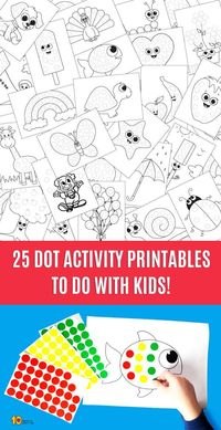 "25 Dot Activity Printables [avia codeblock placeholder uid=""1""] 25 Do a Dot Activity Sheets File format - PDF Size - available in A4 and Letter page format Numb"
