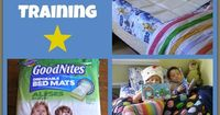 Nighttime potty training can be frustrating for both moms and children. Patience and the right product to keep everything dry are the keys to success.