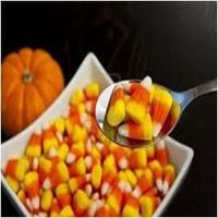 Candy Corn Relay Race - starting bowl full of 'candy corn' (or chosen sweet) and guests have to form teams (however many you want minimum two) each team member has a spoon and has to take the sweets to the empty bowl designated for...
