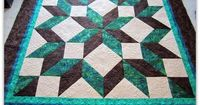 carpenter star quilt pattern free | Quiltscapes.: Carpenter's Star - My favorite!